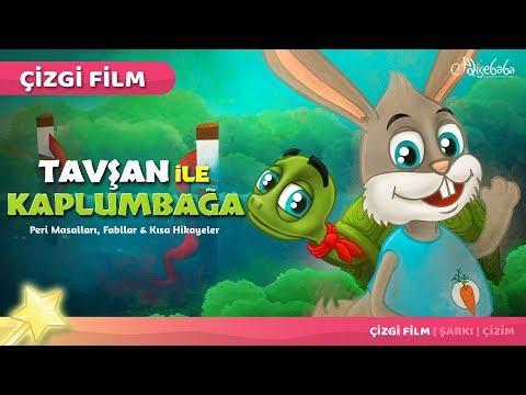 Tavşan ile Kaplumbağa çizgi film masal 37 - Adisebaba Çizgi Film Masallar