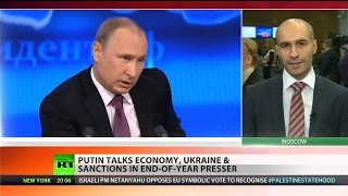Putin slams West for trying to put pressure on Russia