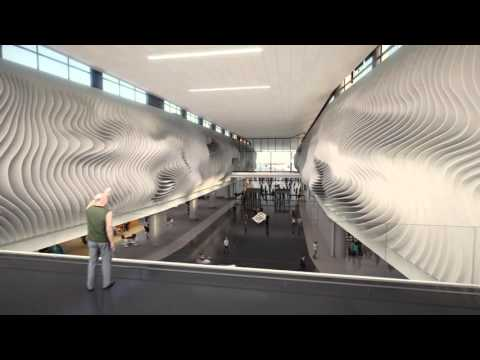 Departure - SLC Airport Redevelopment Fly-Through