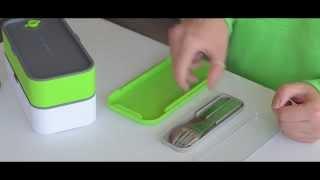 Столовые приборы monbento. Видео-обзор от БентоБокса