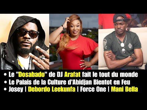 """DOSABADO """"Tour du Monde"""", Le Palais de la Culture en FEU.. Le JOURNAL de PRIINCE TV"""