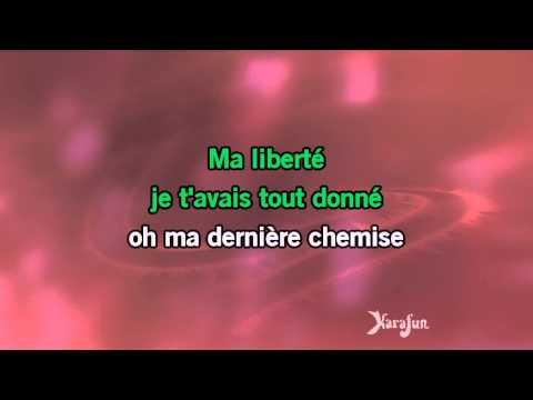 Karaoké Ma liberté - Chimène Badi *