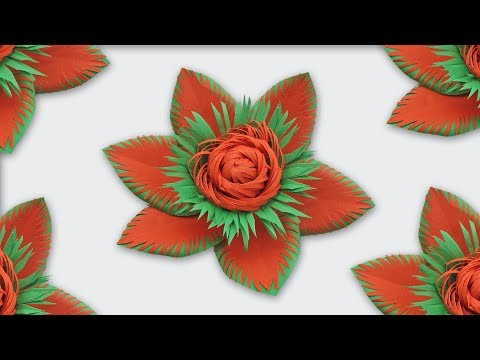 DIY Paper Flowers Making | Paper Flower Backdrop Tutorial step by step