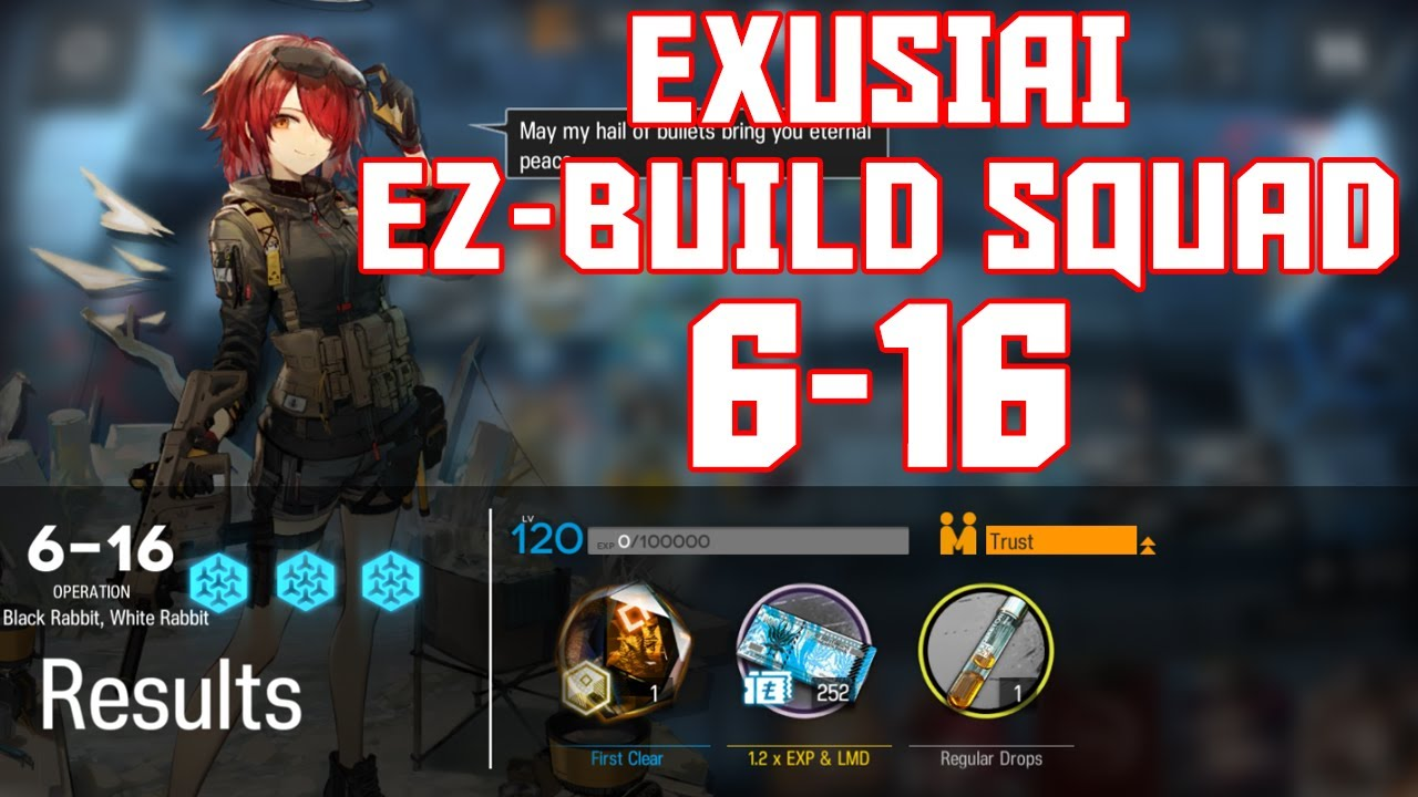 Download 【明日方舟/Arknights】[6-16] - Exusiai Easy Build Squad - Arknights Strategy