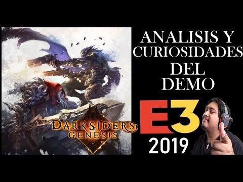 Análisis y Curiosidades de La Demo de Darksiders Genesis E3 2019