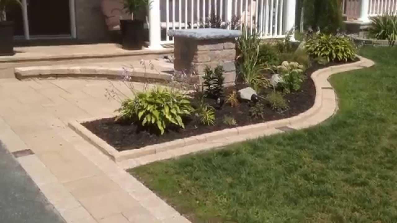 Front Entrance Landscape - YouTube