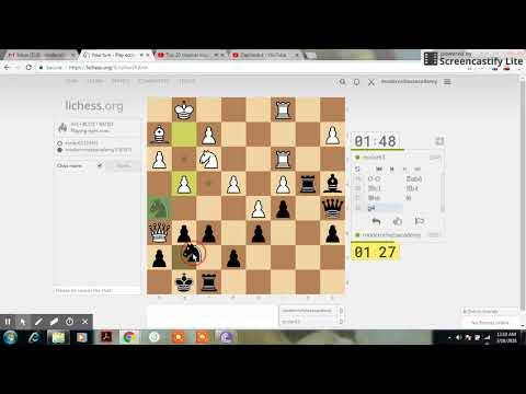 Blitz Game 002 | Sri Lanka Chess | Modern Chess Academy