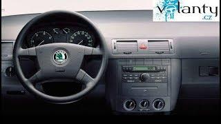Como desmontar el volante de una Skoda Fabia 1 2000 - 2004