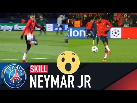 SKILL / GESTE TECHNIQUE : NEYMAR JR - AVANT-MATCH PARIS SAINT-GERMAIN vs CELTIC FC