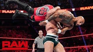 Ricochet vs. Cesaro: Raw, June 3, 2019