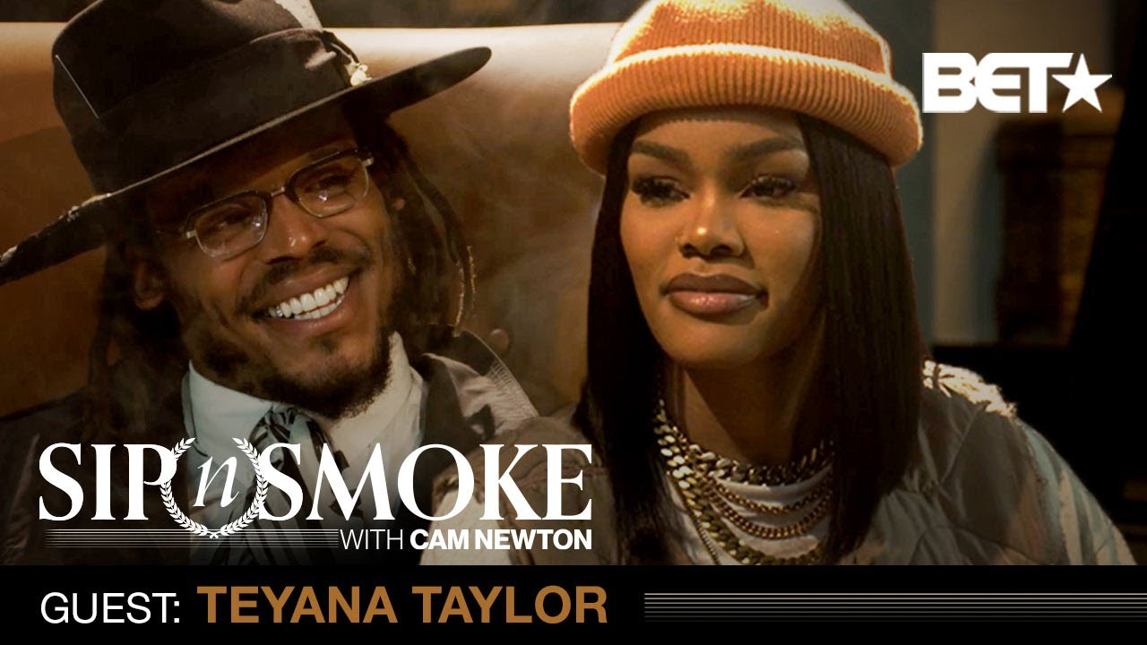 Teyana Taylor On Finding Balance In Her Career, Family & More | Sip 'N Smoke W/ Cam Newton
