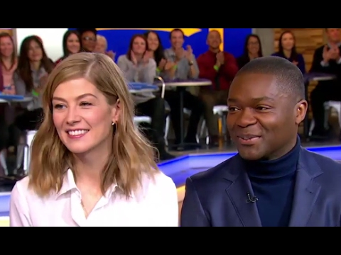 David Oyelowo, Rosamund Pike  on 'A United Kingdom'  GMA