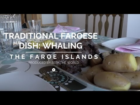 The Traditional Faroese Food: Pilot Whale