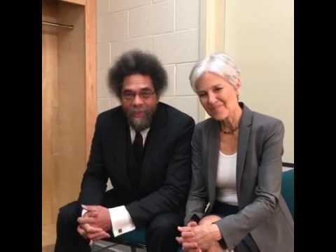 Dr. Cornel West and Dr. Jill Stein