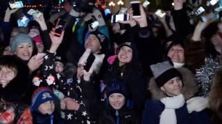 """Съмки в Хабаровске клипа группы """"Ленинград"""" 21 12 2016"""