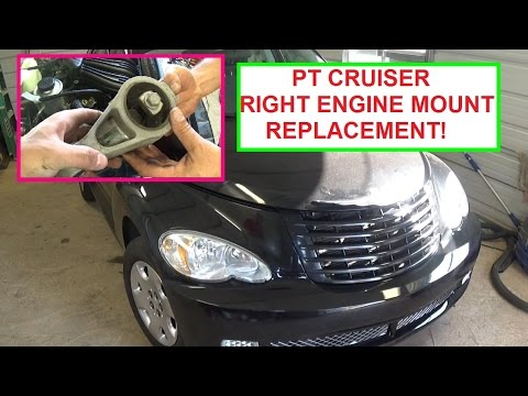 Chrysler Pt Cruiser Engine Mount Removal And Replacement Passenger