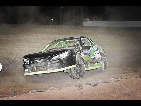 6/23/18 IMCA Stock Car Canyon Speedway Park Heat & Main Event