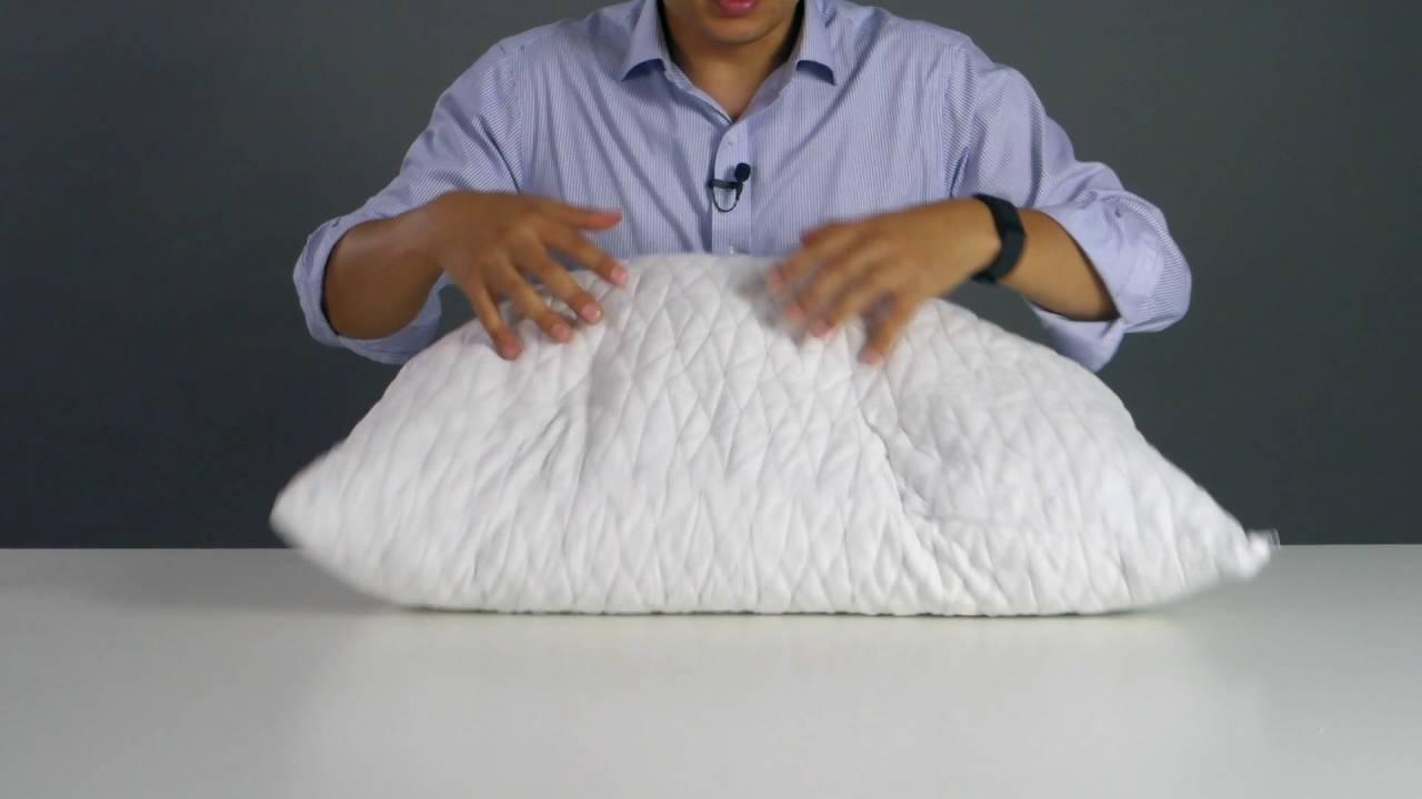 coop home goods adjustable pillow instructions