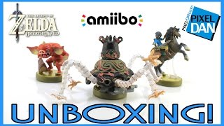 Amiibo Legend of Zelda Breath of the Wild Nintendo Unboxing & Video Review