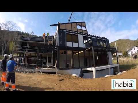 Construccion de casa prefabricada habia modular youtube for Construccion modular prefabricada