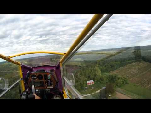 CGS Hawk flight to Wautoma,  WI (a little bumpy) ; )