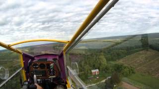 CGS Hawk flight to Wautoma,  WI (a little bumpy) ; )