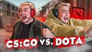 КОРОЧЕ ГОВОРЯ, DOTA 2 VS CS:GO / СБОРНИК