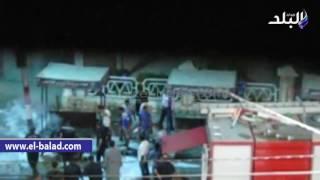 بالفيديو والصور.. السيطرة على حريقين أحدهما بجوار شبكة الكهرباء بمدينة بني سويف والآخر بمحول قرية 'سدس'
