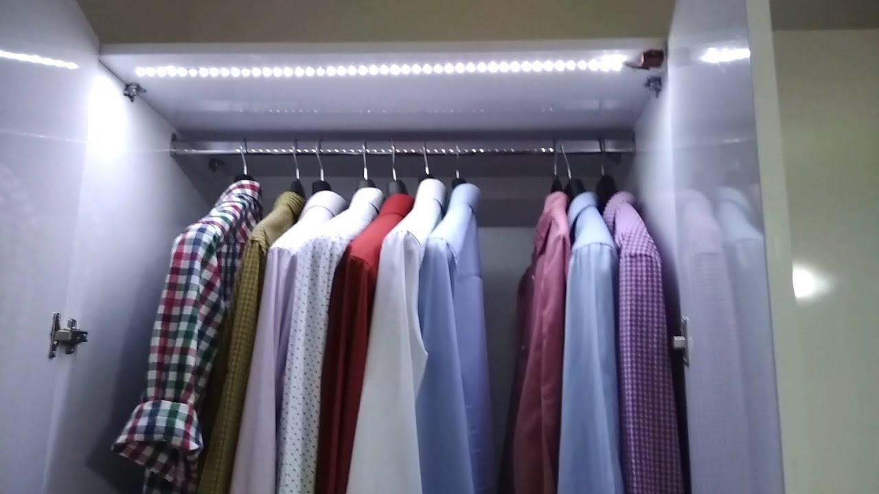 Dolap Ici Aydinlatma Yapimi How To Make Wardrobe Lighting