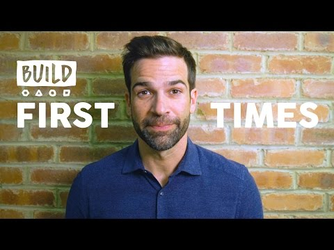 Gethin Jones' First Times