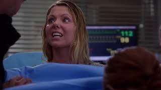 Grey's Anatomy - April Delivers Matthew's Baby