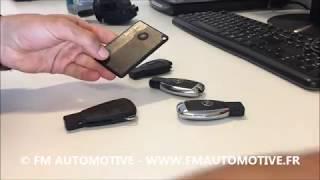 Comment changer les piles sur les clés Mercedes