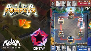 ¡ ¡ TOP VS TOP: POMPEYO VS OKTAY ! ! - KManuS88 - Clash Royale