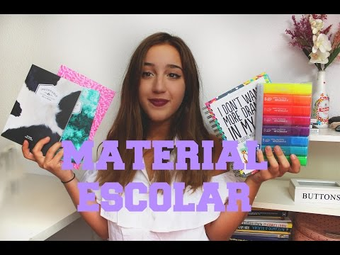SUPER HAUL MATERIAL ESCOLAR | Back to school