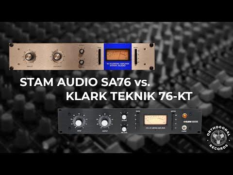 Stam Audio SA76 vs. Klark Teknik 76-KT