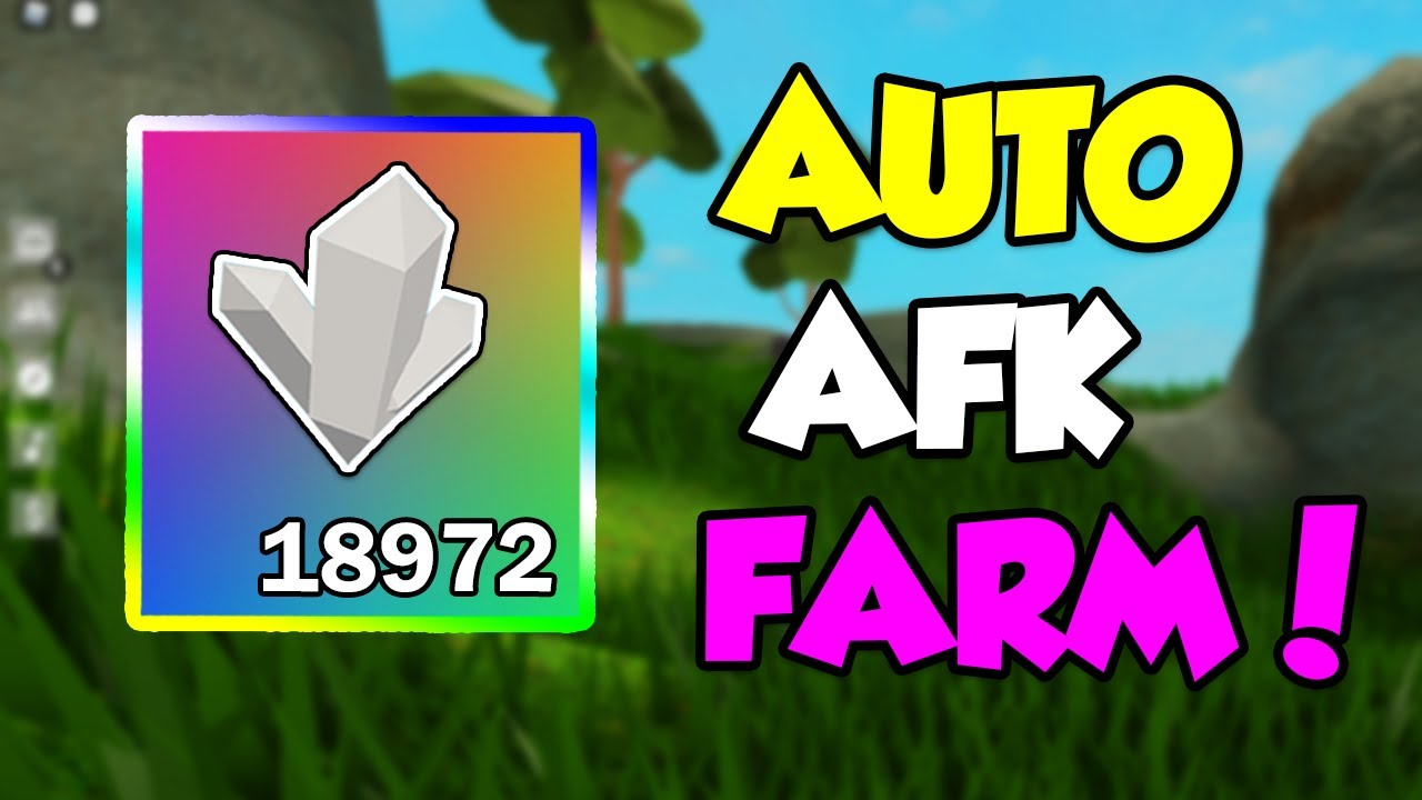 Best Auto Afk Crystallized Iron Farm Roblox Sky Block Infinite