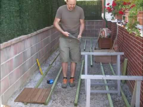 Madera de artista como poner un suelo de madera en el - Como poner baldosas en el piso ...