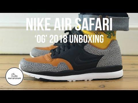 8119dfe555 Nike Air Safari 'OG' 2018 Colorway Sneaker Unboxing with Mr B - YouTube