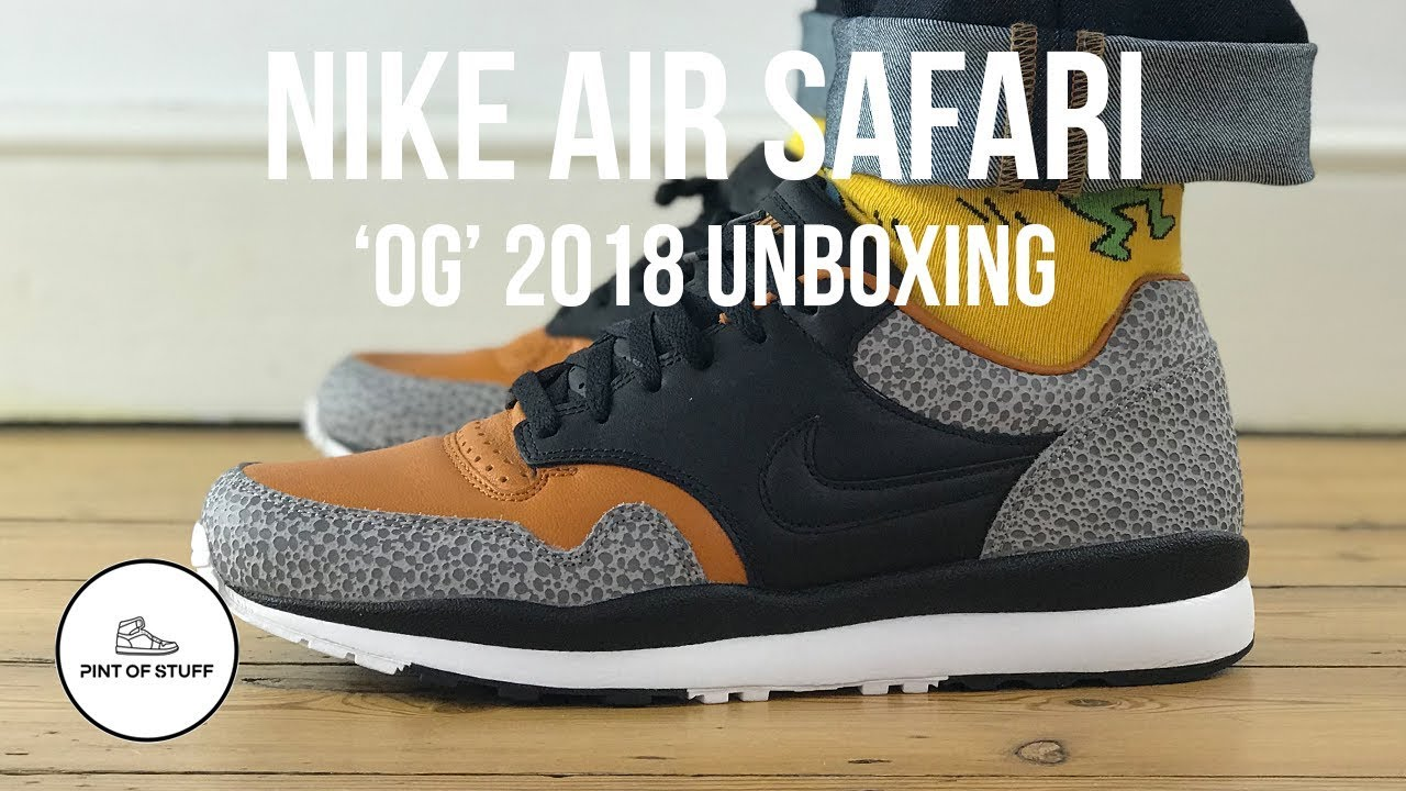 The Nike Air Safari OG (2018) Is Now Available •