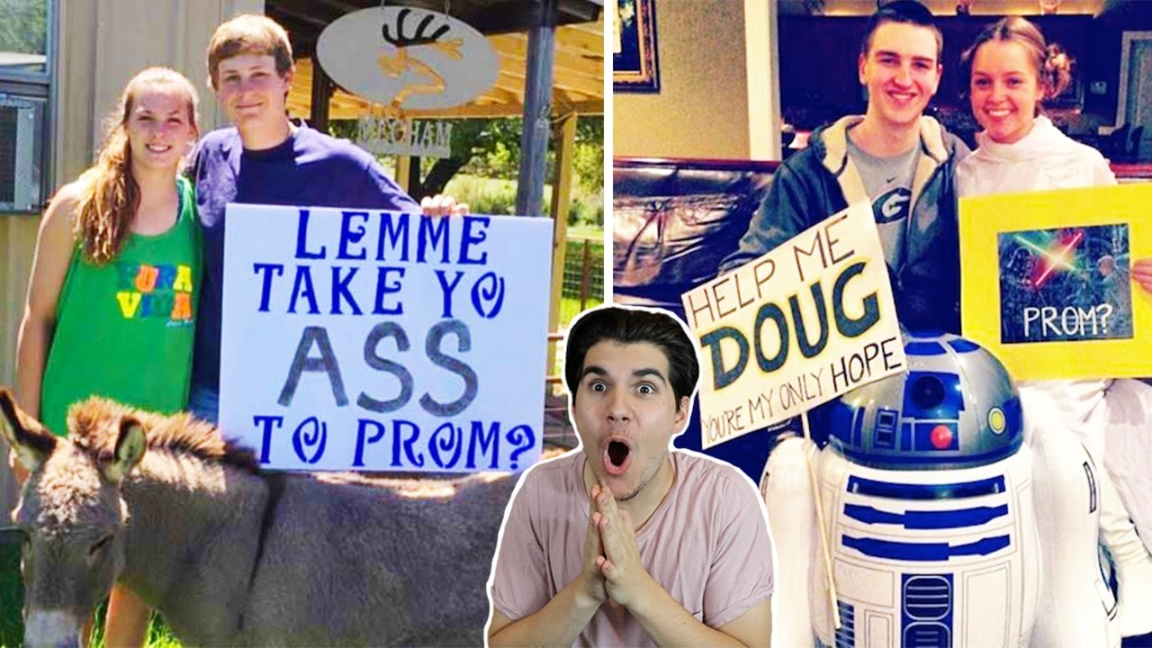 BEST PROM PROPOSALS EVER!!