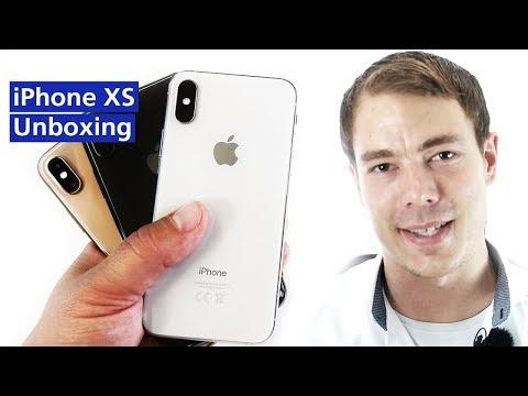Unboxing: Apple IPhone XS (Deutsch)