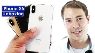 Unboxing: Apple iPhone XS (Deutsch)