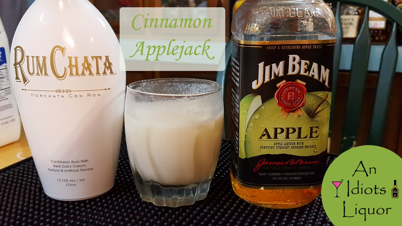 Cinnamon AppleJack Cocktail Recipe W/ Jim Beam Apple And