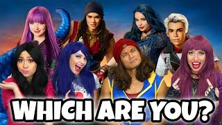 Which Descendants Character Are You? Totally TV