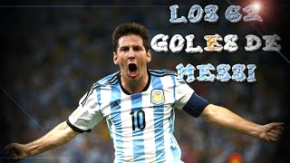 The 62 goals of Messi in Argentina (2004 - 2015) [NEW]