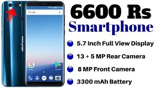 6600 Rs Smartphone - 5.7 Inch Full View Display, 13+5 MP Rear Camera,Premium Design and More....