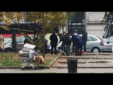 LA SITUAZIONE CHOC DELLA STAZIONE CENTRALE DI MILANO: degrado, criminalità e sfruttamento dell'immigrazione di massa - VIDEO
