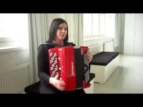 Netta Skog's first impressions of Roland FR-4x V-Accordion