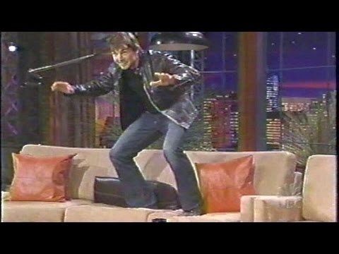 Thumbnail: Tom Cruise jumping on Jay Leno's couch at 3:26