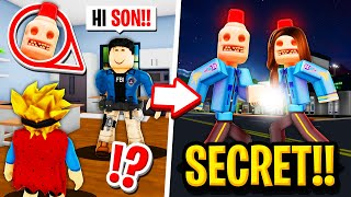 My Parents were SECRETLY SIRENCOPS in Roblox BROOKHAVEN RP!!
